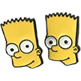 Bart Simpson from The Simpsons Stud Earrings With Gift Box from Outlander Gear
