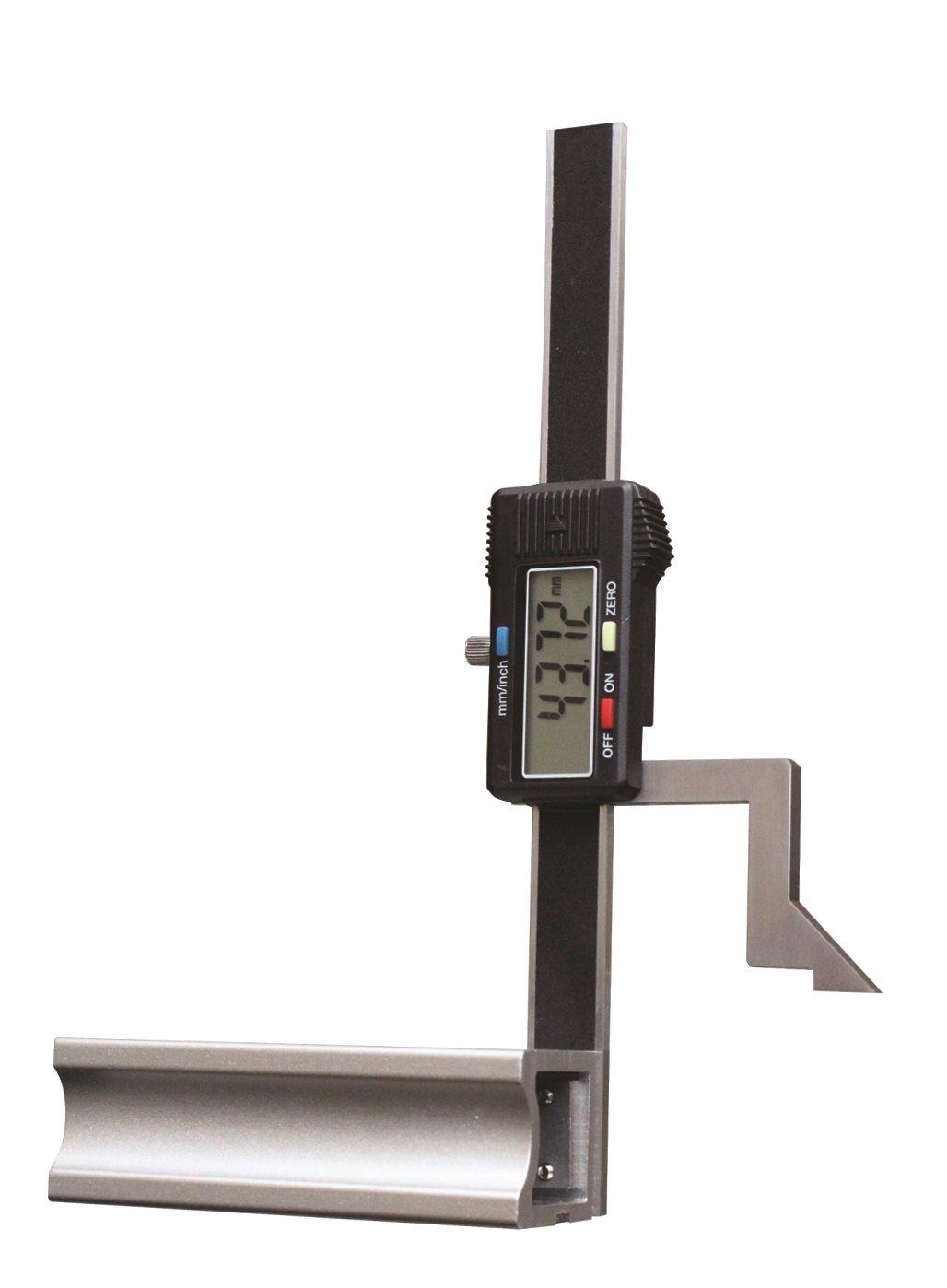 CNC QUALITÄ T Digital Hö henmess- und Anreiß gerä t - leichte Ausfü hrung - Messbereich 200 mm CNC QUALITÄT