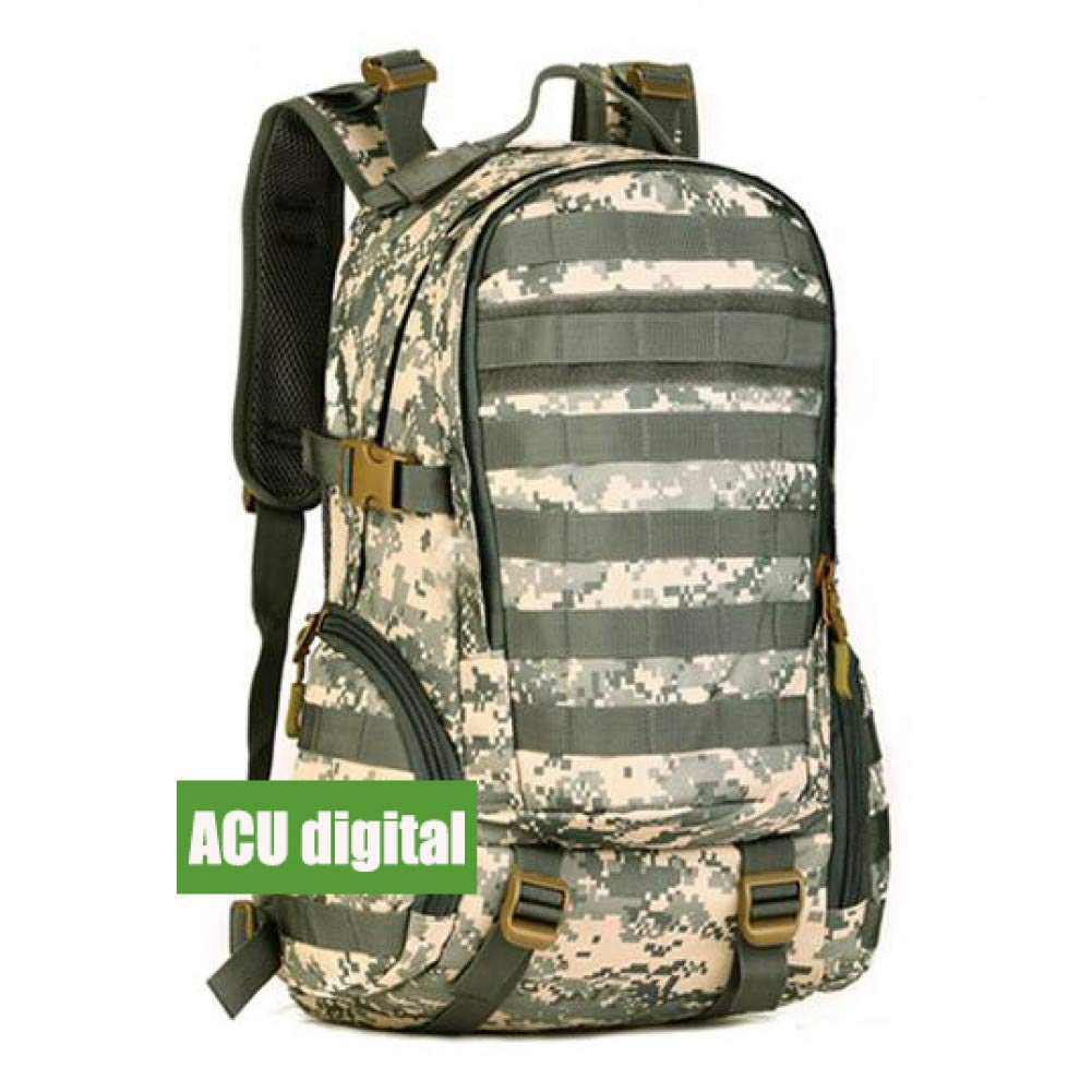 JKLSNMA Chaussures de randonnée 35L Military Tactical Assault Pack Backpack Army Waterproof Bag Small Rucksack for Outdoor Hiking Camping Hunting F 30 - 40L