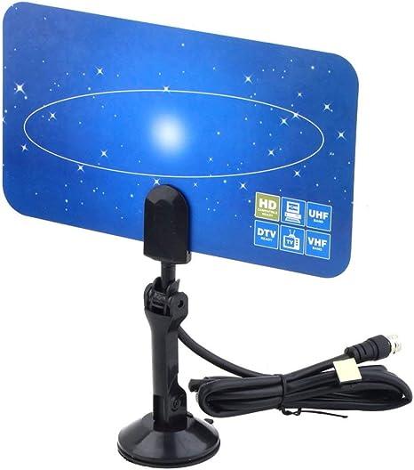 Interior Antena de TV Digital HDTV DTV Box HD Ready VHF UHF ...