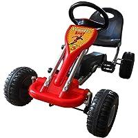 vidaXL Coche Go Kart con Pedales - Color