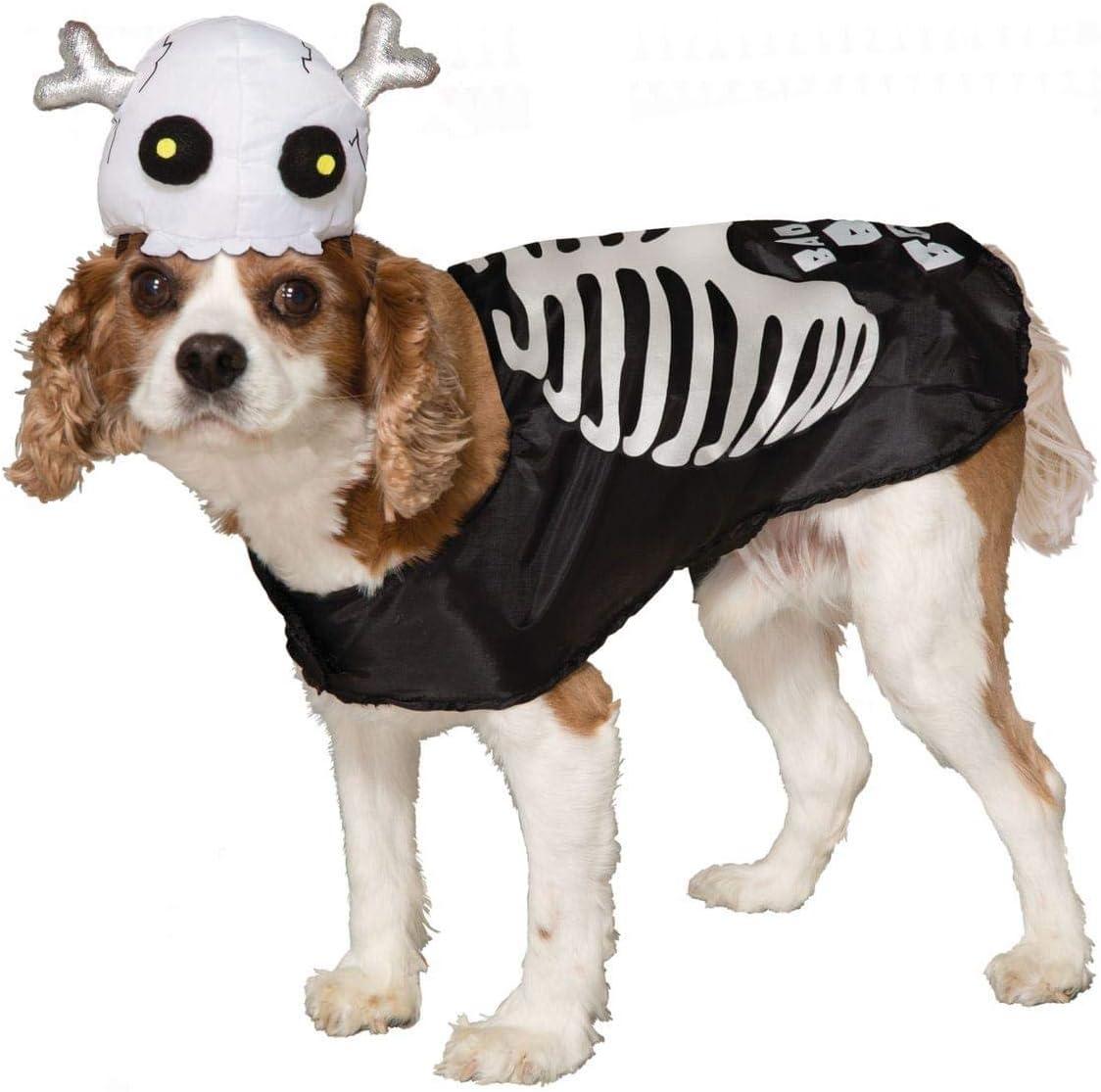Skelet Kostuum voor honden