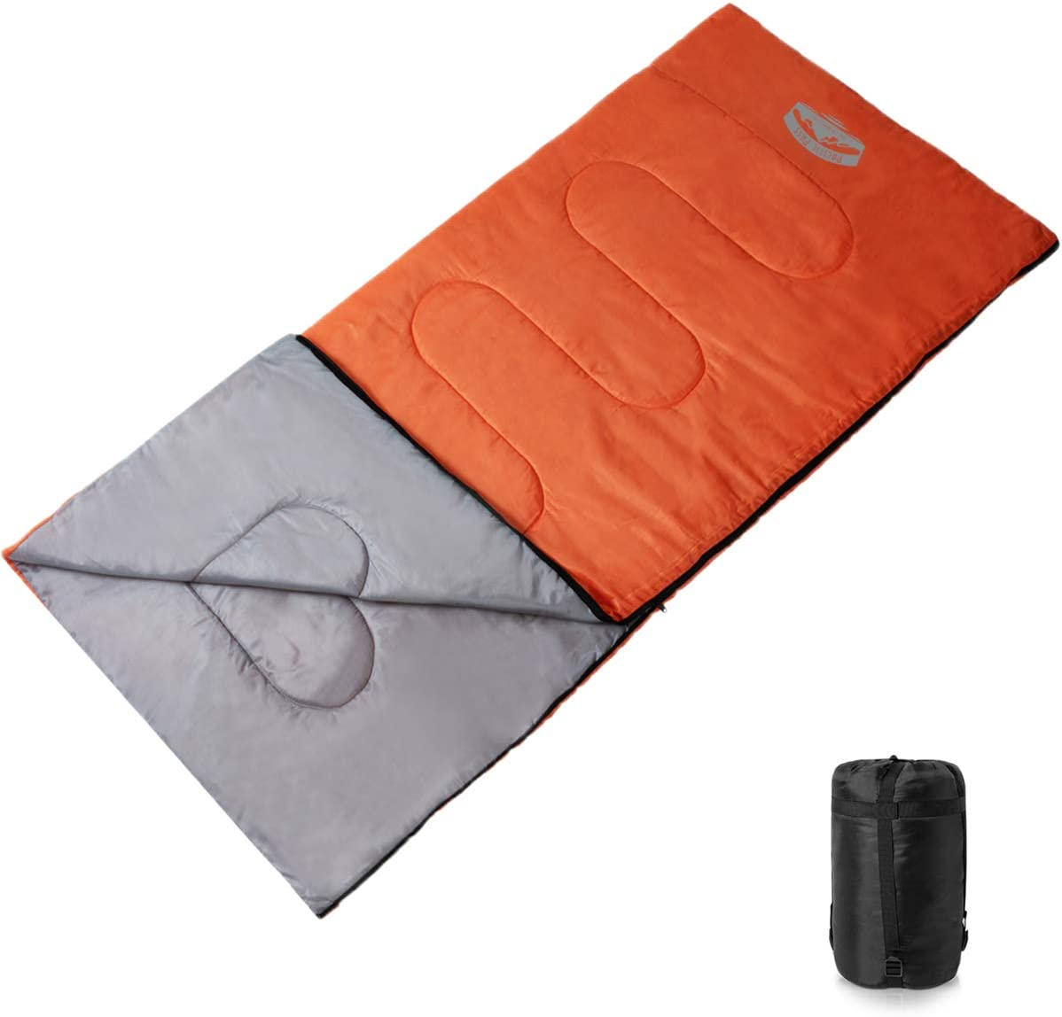 Pacific Pass Adult Sleeping Bag with Carry Bag Temperature 50 Degree