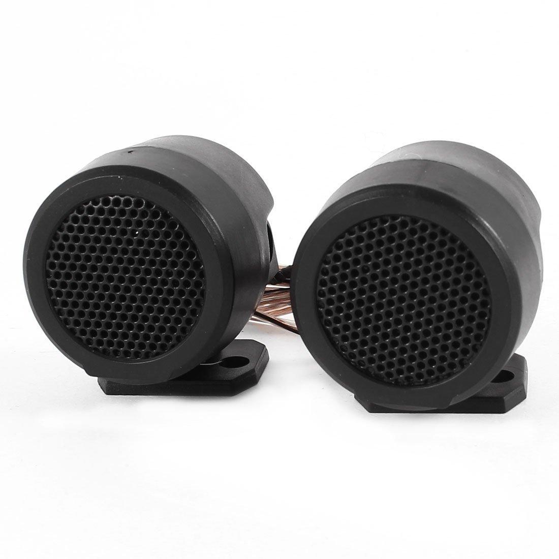 sourcingmap® voiture noir Audio bruyant Speaker dôme haut-parleurs 500 Watts 5KHz-20KHz 2 Pcs sourcing map a14052000ux0610