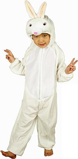 Fun Play - Disfraz de Conejo para niños - Disfraz de Animal - Mono ...