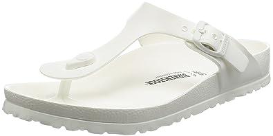 3be703494e40 Birkenstock Essentials Unisex Gizeh EVA Sandals White 36 N EU (US Women s  5-5.5