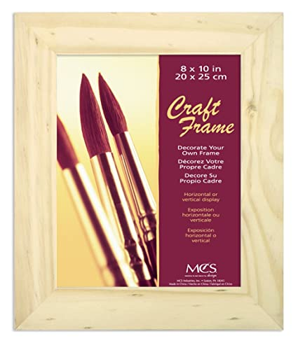 Amazon.com: MCS 8x10 Inch Unfinished Pine Craft Frame (58101)