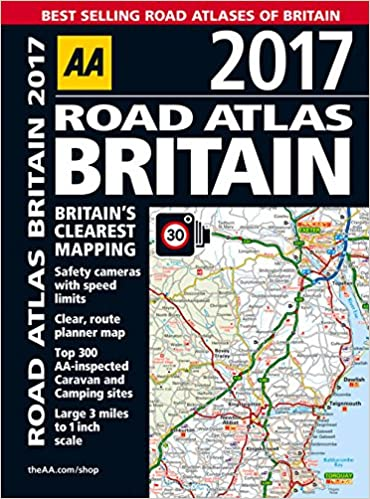 Aa Road Map Road Atlas Britain 2017: AA Publishing: 9780749577810: Amazon. Aa Road Map