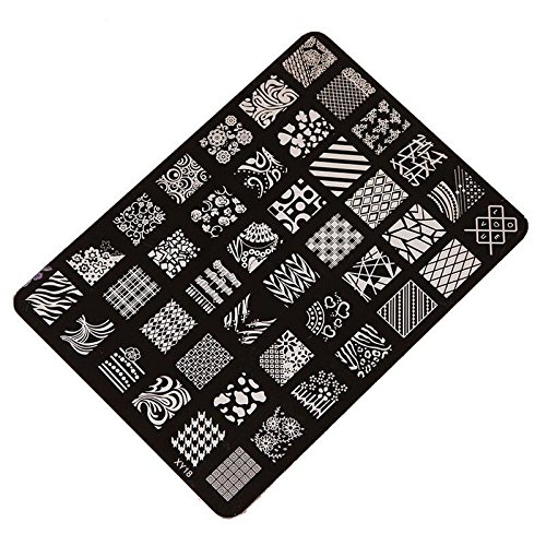 Stamping Printing Plate Manicure Nail Art Decor 14.5x10.5cm - 2