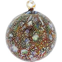 GlassOfVenice Murano Glass Medium Christmas Ornament - Festive Lights