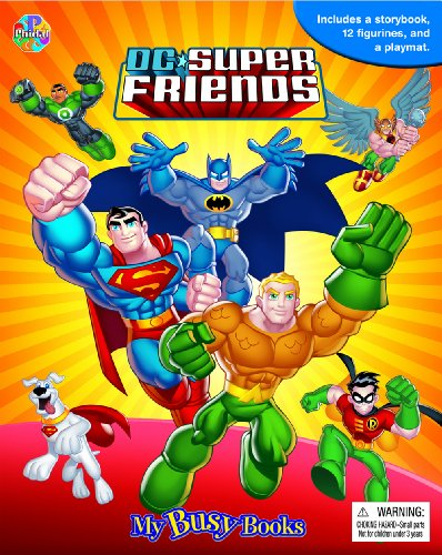 DC Super Friends My Busy Book