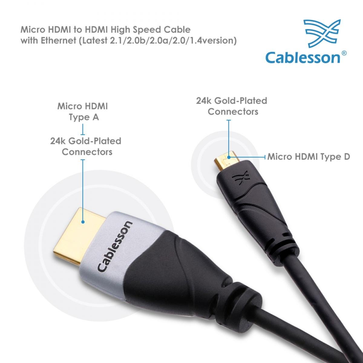 cablesson ivuna 2m high speed hdmi cable 4k 3d amazon co uk rh amazon co uk