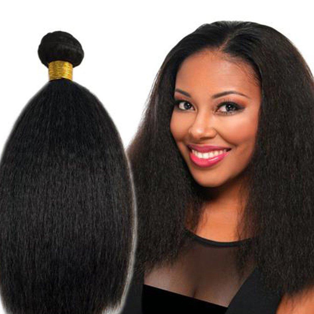 Amazon 8a Brazilian Virgin Hair Kinky Straight Hair Weave