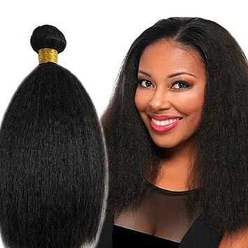 8A Brazilian Virgin Hair Kinky Straight Hair