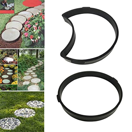 YJZ Molde plástico del jardín DIY, Modelo del pavimento de la trayectoria, Fabricante concreto