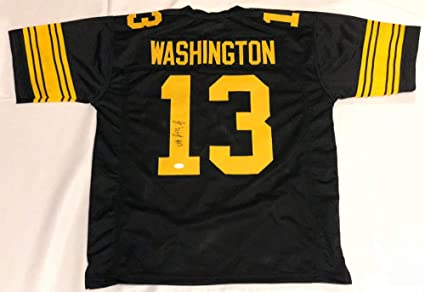 best website 41195 96453 James Washington Autographed Signed Steelers Throwback ...