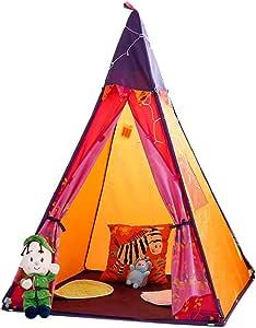 Carpa infantil Tiendas de campaña Play House Interior casita Infantil Plegable Juguetes para niños casa de niños y niñas. (Size : 100x150cm): Amazon.es: Hogar
