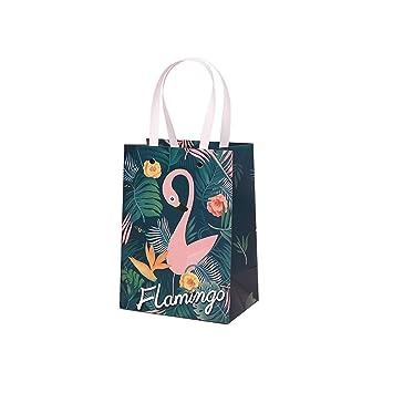 Amazon.com: JEWH - Bolsa de papel con asas, ideal para ...