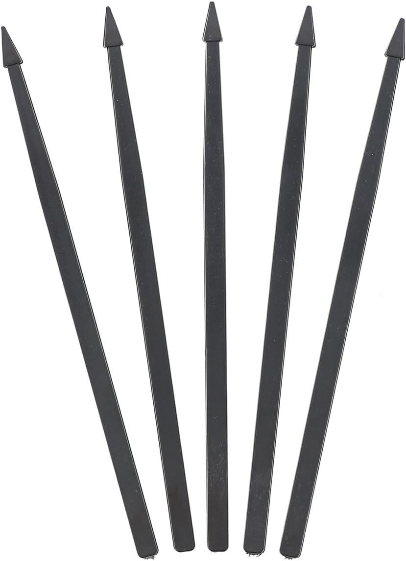 Royal Premium Black Plastic Arrow Picks, Package of 1000