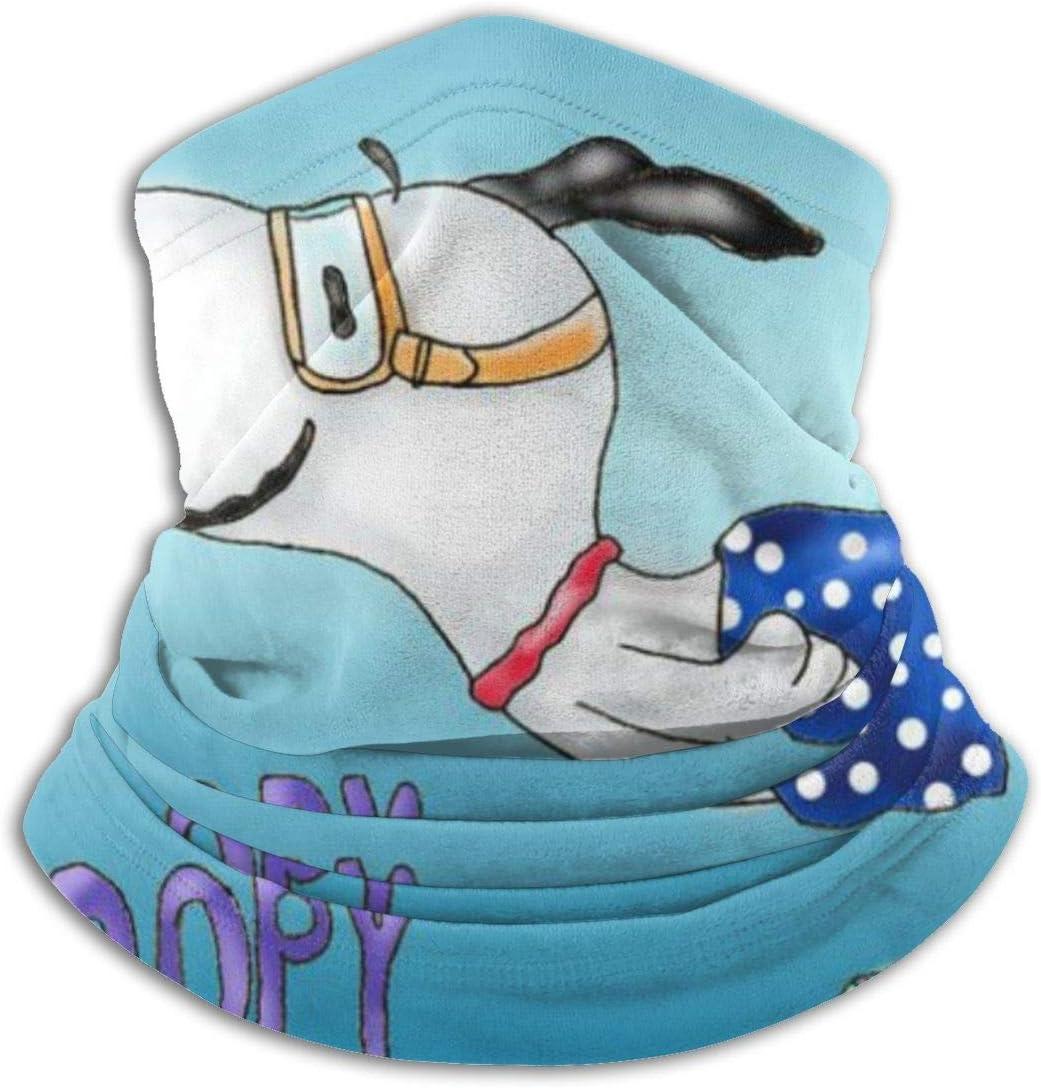 HUHAOCZ Snoopy Ultimate suave para la piel del cuello, máscara de protección, bandana de protección, superabsorbente de la humedad