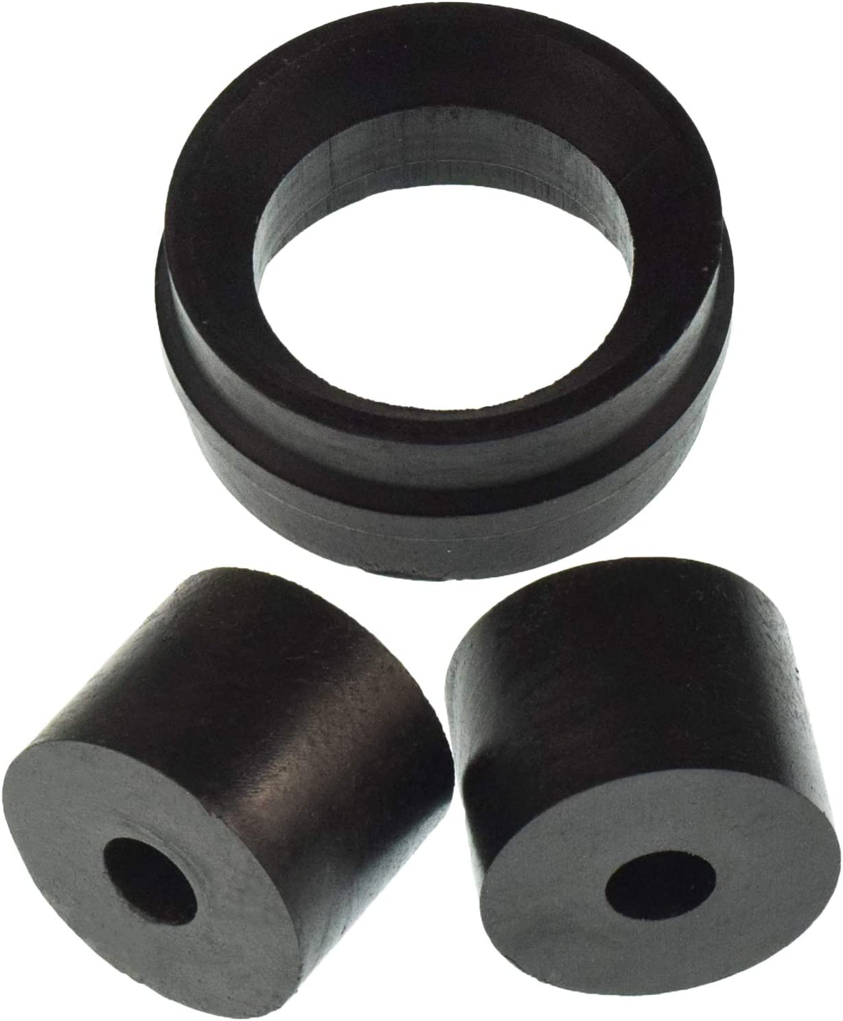 Chain Roller Kit Fits for Yamaha Blaster YFS200 1988-2006 Includes Upper /& Lower Rollers and Swing Arm Guard-Black