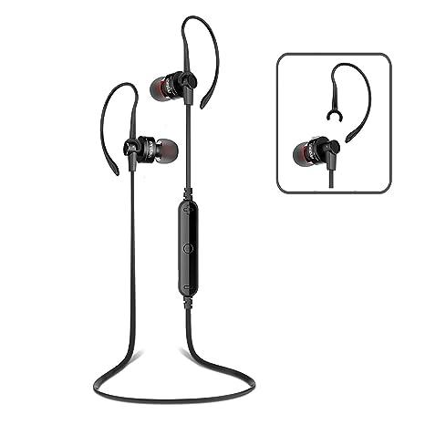 PROT3CH Bluetooth 4 0 cuffie wireless senza fili auricolari auricolare con  Suono Noise Cancelling HD Stereo e Microfono per chiamare senza mani Set