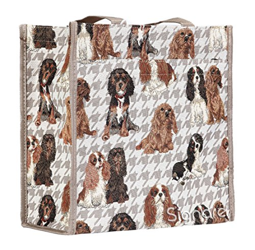 Shopper Womens Brown Beige Fashion Tapestry Bag Bag Animal Signare Shoulder xtZHW1pZn