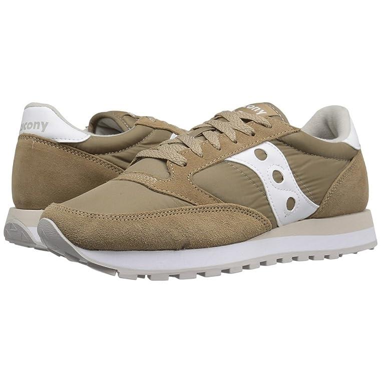 Zapatos Saucony Jazz H. Zapatos H Jazz Saucony. Tan/white T12 Tan / T12 Blanc site officiel LIQUIDATION HvkPwiW3tz