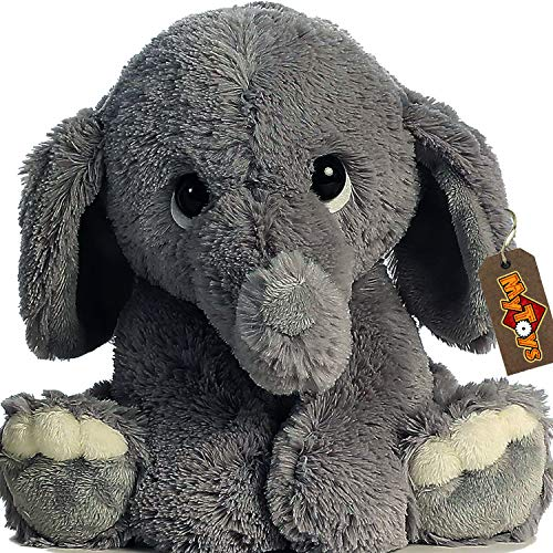 Elephant Plush Toy for Kid and Babies Nursery Room Decoration Stuffed Elephant Animal Plush ()