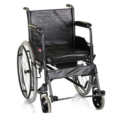 Silla de ruedas Aluminio, Plegables Ligeras con Una Batea De ...
