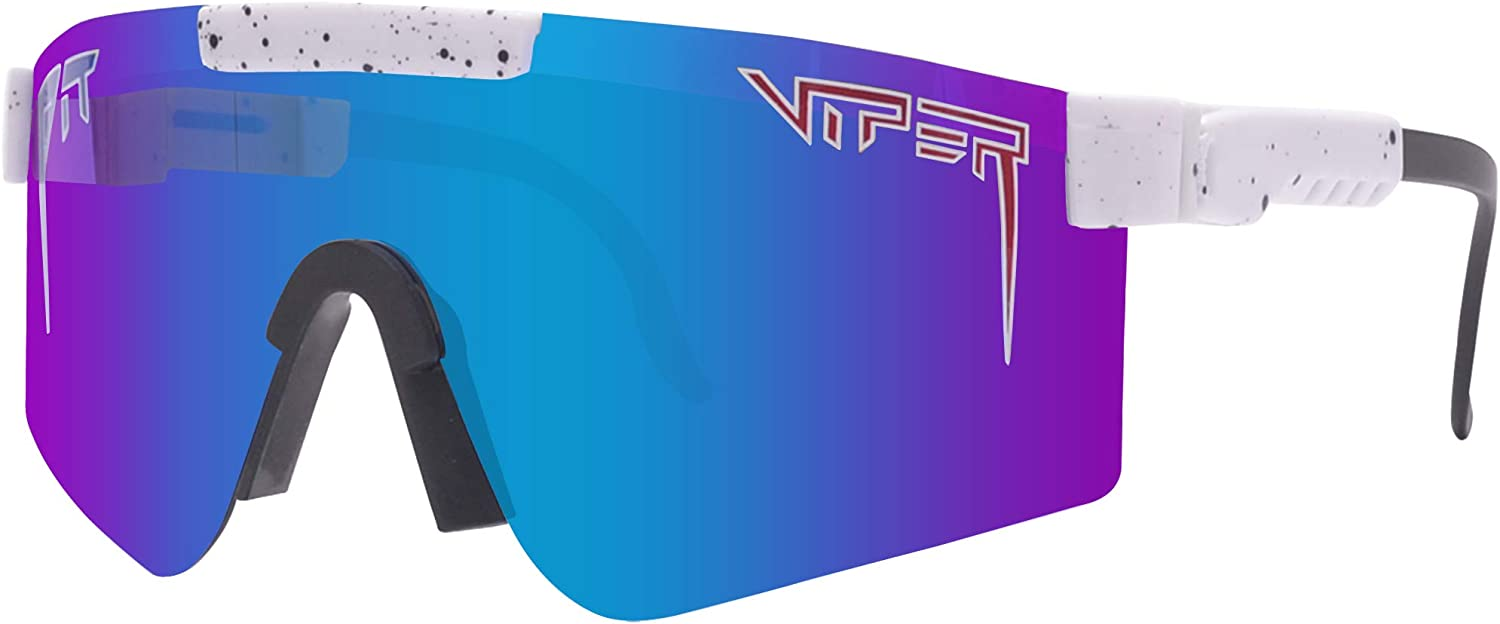 Windproof Eyewear Uv 400 Polarized for Women and Men Pit Viper Sunglasses B10 Outdoor Cycling Glasses