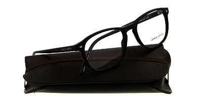 1a36648296a Amazon.com  GIORGIO ARMANI Eyeglasses AR 7003 5001 Matte Black 52MM ...