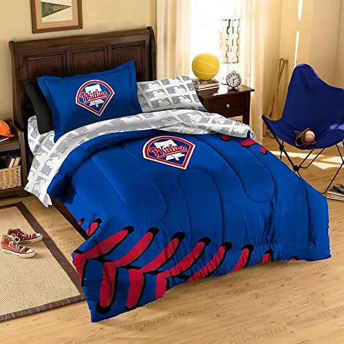 (MLB Philadelphia Phillies Twin Bedding Set)