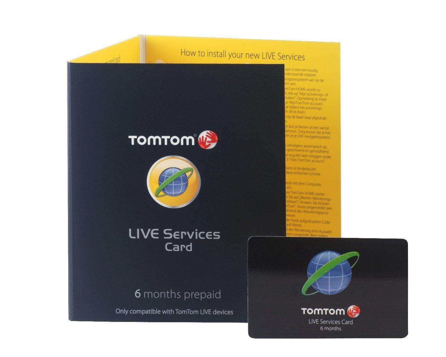 Tomtom - Tarjeta de servicios Go LIVE, 6 meses [Importado de ...