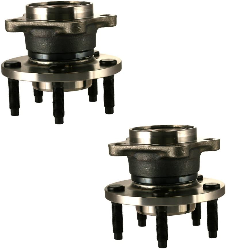 Fit 07-10 Lincoln MKX Ford Edge Brand New Wheel Bearing Hub Assembly Rear Left and Right 5 Lug Only For AWD HU512335 x 2 Set of 2