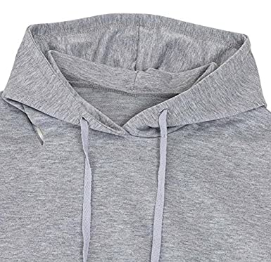 Zantt Womens Casual Hoodies Cold Shoulder Cut Out Pullover Sweatershirt Tops
