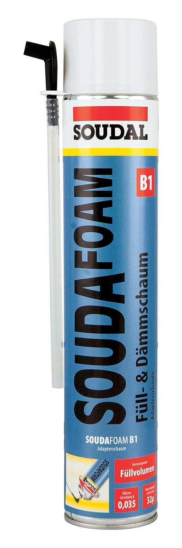 Soudal Souda Foam adaptador B1 de espuma (Espuma de poliuretano - Adaptador Profesional - Altamente inflamable, contenido: 750 ml: Amazon.es: Bricolaje y ...