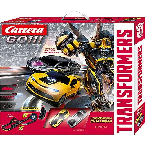 Carrera Go!!! - 20062334 - Circuit De Voiture - Lockdown Challenge - Transformers
