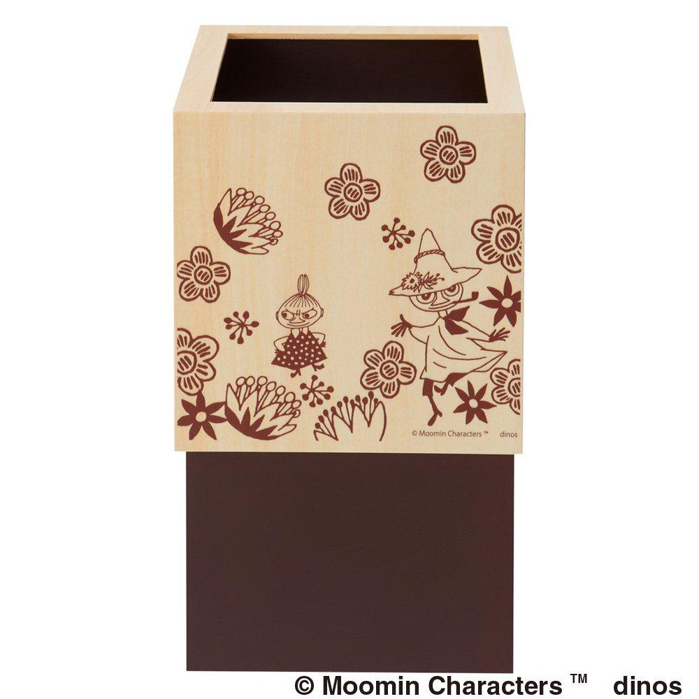 ムーミン キューブ型ダストボックス10L  1個 534608(サイズはありません エ:ブラウンムーミンミイ) B07BXP2Z6Bエ:ブラウンムーミンミイ