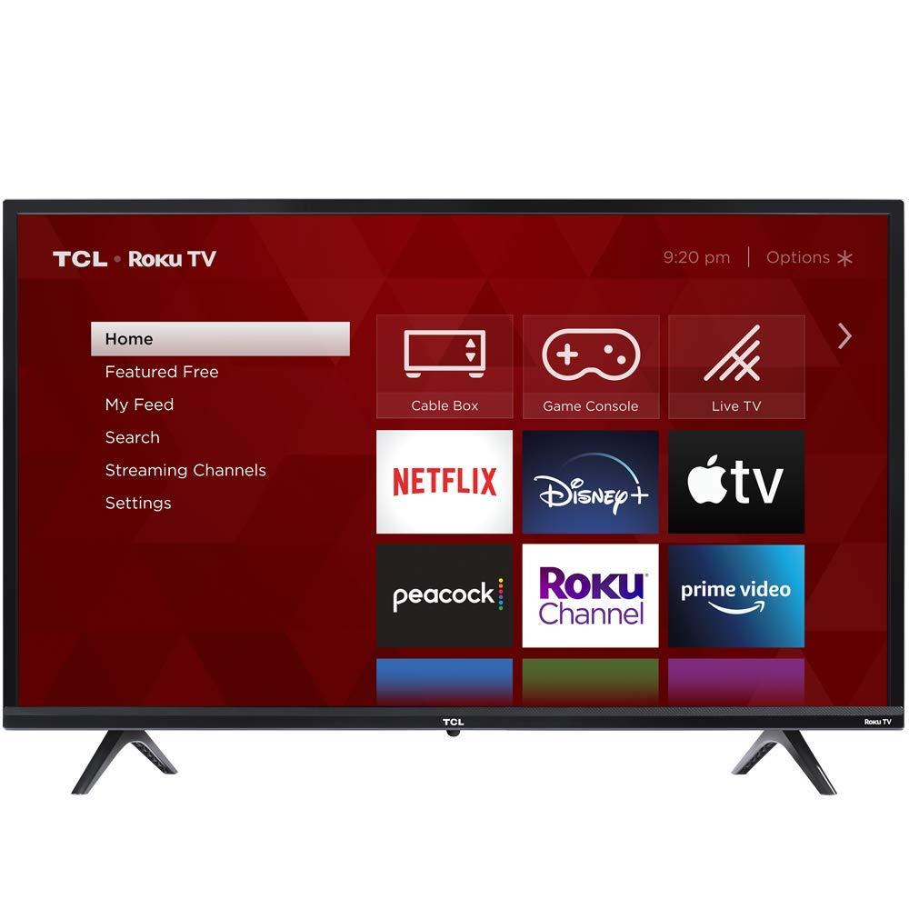 TCL 32-inch 3-Series 720p Roku Smart TV