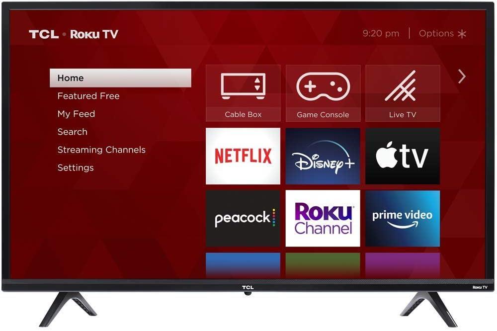 TCL 32-inch 3-Series 720p Roku TV $158.00 Coupon