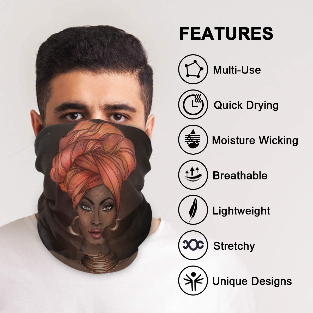 UK Adults Funny 3D Design Reusable Face/_M/ásks Washable Outdoor Breathable Riding Quick-Drying Bandanas Motorbike Face Bandanas Mouth/_Covering