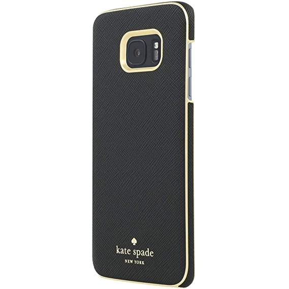 official photos 62be4 fee4c kate spade new york Wrap Case for Samsung Galaxy S7 Edge - Saffiano Black