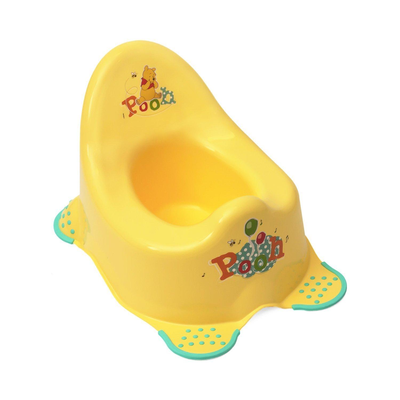 Disney Baby - Solution EU Limited - Accesorios de baño para niños, diseño de «Winnie the Pooh» Talla:Musical Potty