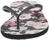 Roxy Women's Bermuda Flip Flop Sandal, Black