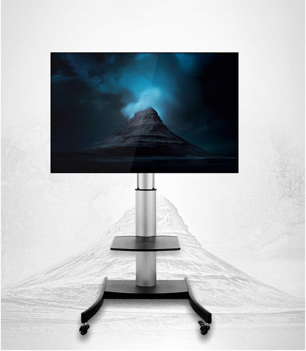 Carrito de TV portátil con Soporte para TV de 40 a 80 Pulgadas LCD ...