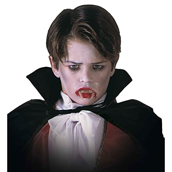 Denti da vampiro per bambini ideali per un costume di Halloween o per  completare vestito da Dracula  Amazon.it  Giochi e giocattoli 2662830ebd5f