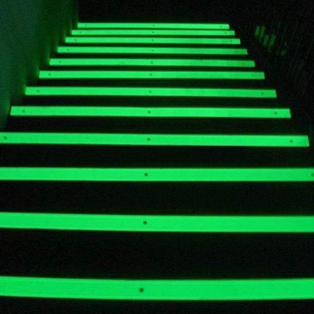 Glow in The Dark Luminescentes Tapes Autocollant S/écurit/é Fluorescentes Bandes Phosphorescent Ruban Gaocunh Luminous Ruban Adh/ésif