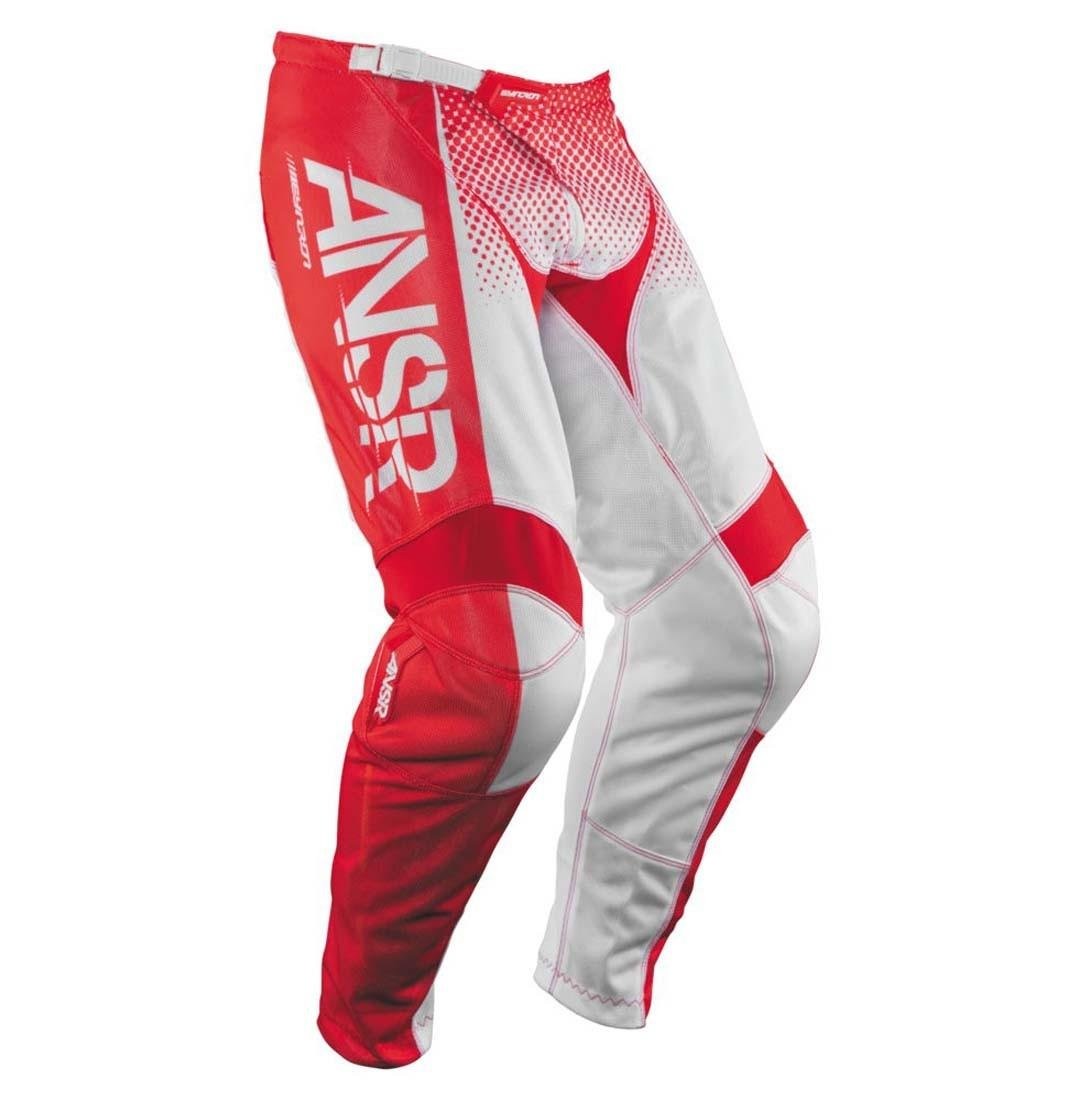 Size 38 Answer Racing A17.5 Syncron Air Mens Off-Road Motorcycle Pants Red//White