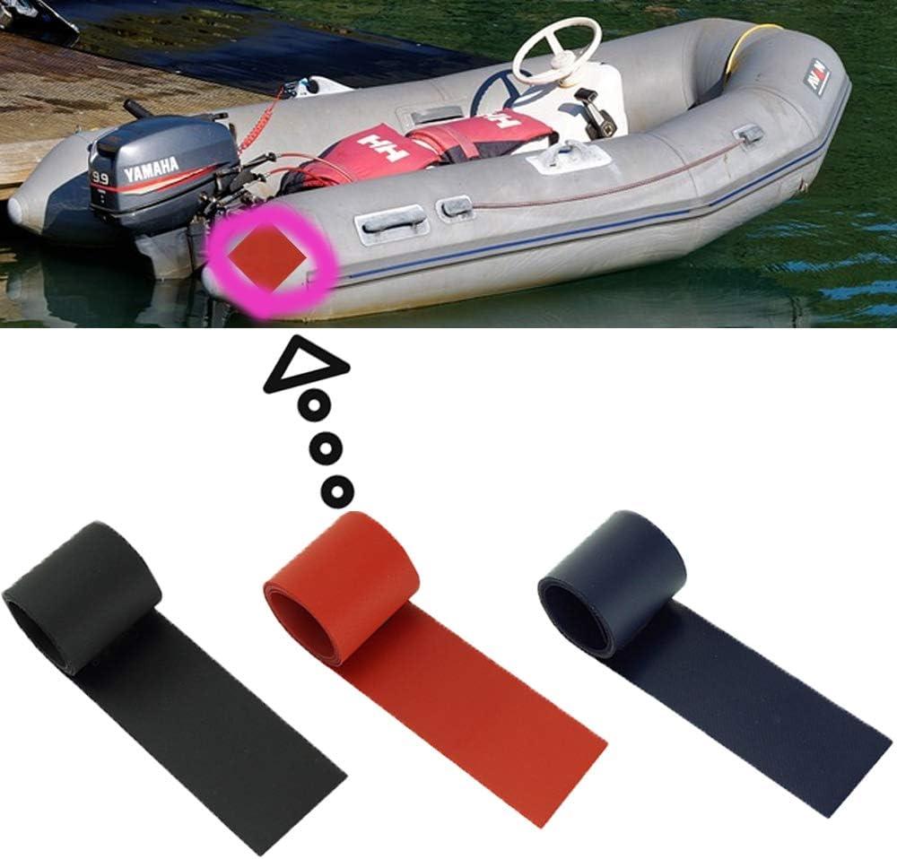 Homefantasy Parches De ReparacióN De Parches De PVC De MúLtiples Funciones para Kayak, Bote De Goma, Bote Inflable, Piscina Inflable, 3 Colores, 5X100Cm